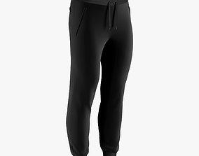 3D model sweatpants male