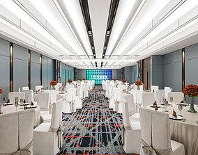 3D ballroom Hotel Ballroom