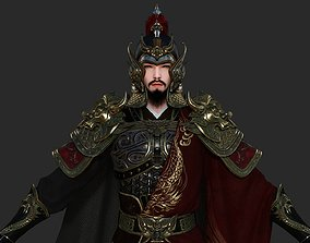 General of Ancient China Ancient Chinese Armor 3D model 1
