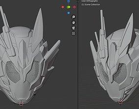 Kamen Rider Vulcan Assault Wolf 3D printable helmet