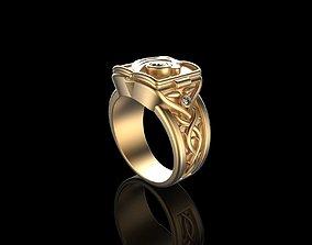 3D printable model men Gold N538