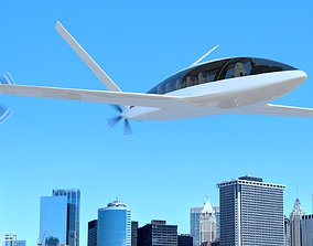 Electric Aircraft Alice Eviation Panoramic with 3D model