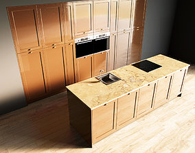 3D model 2-Kitchen2 glossy 1