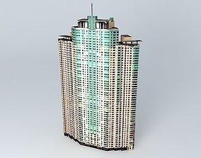 3D model Shimao Riviera Tower