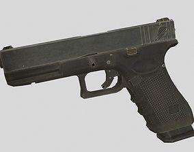 3D asset Glock 18C