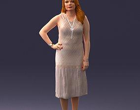 female Posed woman 0430 3d print ready