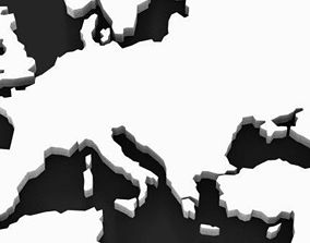 3D World Map HighRes