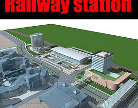 ploschad Railway station 3D
