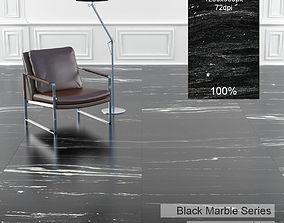 Black Marble Texture 1 3D model