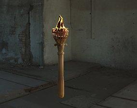 3D Torch Brazier