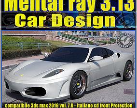 Mental ray in 3dsmax 2016 Vol 7 Car Design cd
