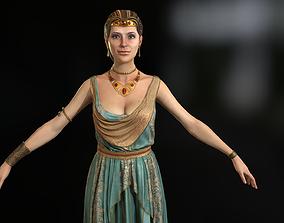 3D model Aristocrat girl