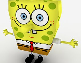 Spongebob SquarePants 3D asset