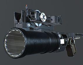 Grenade launcher 3D model VR / AR ready PBR