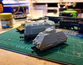 3D print model ARTILLERIEWAGEN NSize Armored