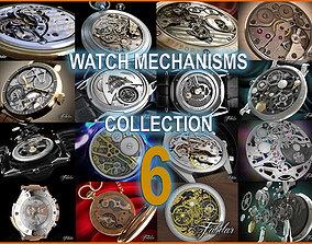 Watch mechanisms coll 6 3D