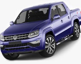 Volkswagen Amarok 2017 3D model