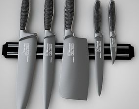 3D model Knife Set