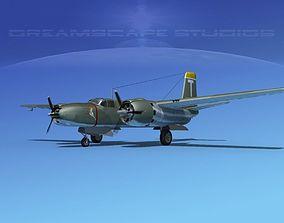 Douglas A-26B Invader V01 3D