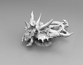 Flying Demonic Screamer with 3D print model