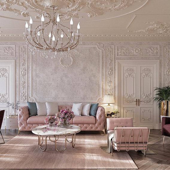 Classic livingroom