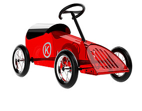 philippe-starck Discovolante Toy Car by Kartell 3D