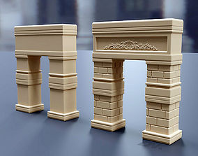 Arch Gate 3D