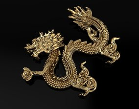 Asian Dragon pendant 3D model