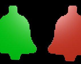 Speaker symbols voxel 1 3D