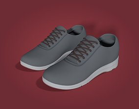 3D model Sneakers Optimized for Rigging and