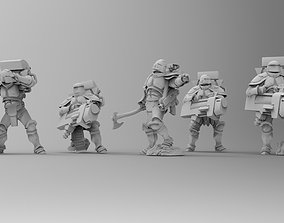 Knights of Roma - Devastation Brotherhood 3D print model 1