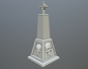 tombstone 12 3D printable model