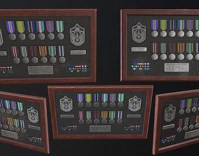 3D asset Police Medal Board
