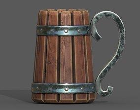 LowPoly Mug for FREE 3D asset