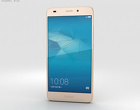 smartphone Huawei Honor 5c Gold 3D