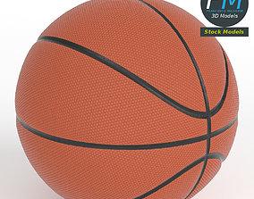 Basketball ball 3D model realtime PBR