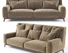 3D model Vibieffe 430 OPERA 2 seater sofa