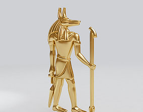 3D print model Egyptian god - Anubis - excellent for