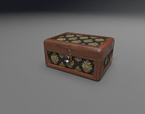 Jewelry Box 3D model realtime