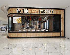 3D Model modern restaurant pub