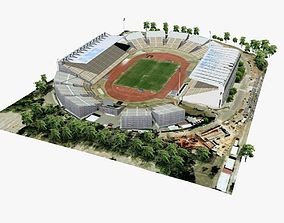 Brisbane ANZ Stadium 3D asset