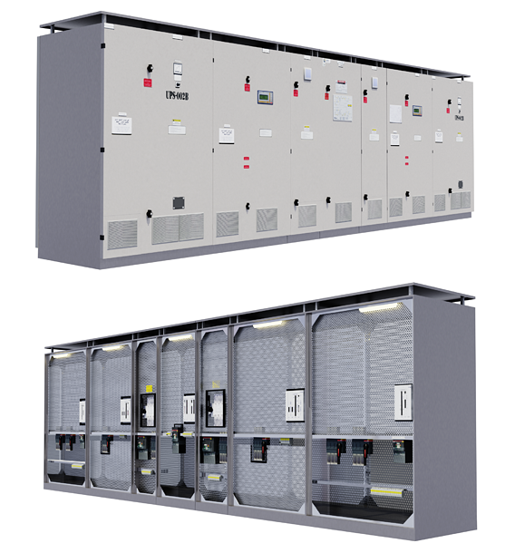 Electric Enlcosure for Power Plant