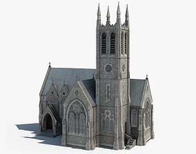 3D Ireland Gothic Church