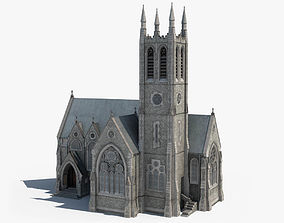 3D Ireland Gothic Church