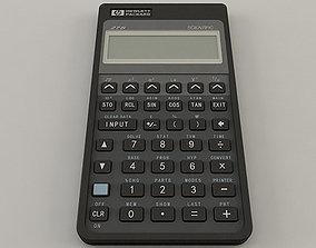 hewlett HP-27S Calculator 3D