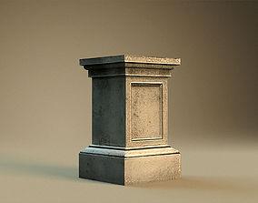 Pedestal 2 3D model