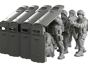 Riot Shields 3D printable model