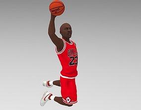 Michael Jordan ready for full color 3D