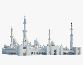 3D model Sheikh Zayed Mosque