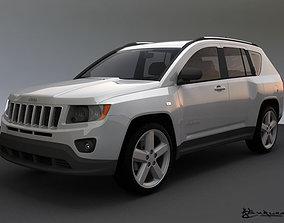 3D model Jeep Compass 2011